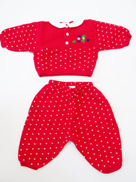 Ensemble rouge  6M