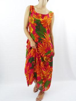 Robe longue fleurie T.42/44