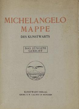 """Michelangelo Mappe """"Das jüngste Gericht"""""""