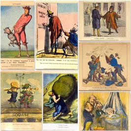 Karikaturen von Honoré Daumier (Set)