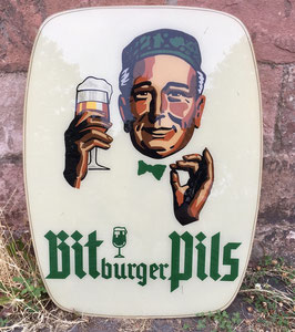 Bitburger Reklameschild