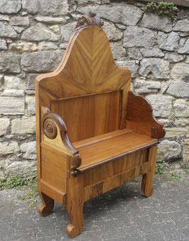 Kleine Sitzbank, upcycled