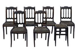Biedermeier Stuhlset aus Süddeutschland