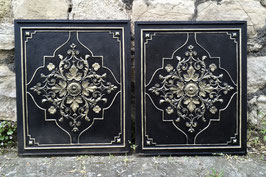 Gusseiserne Ofenplatten