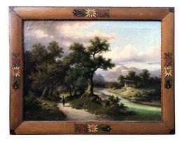 Gemälde Berglandschaft