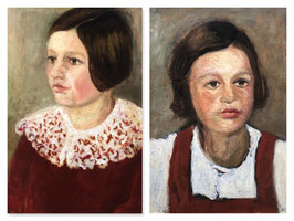 Portraits zweier Mädchen