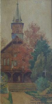 Gemälde im Stuckrahmen