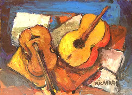 Gemälde Geigen