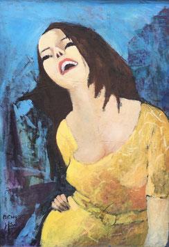 """""""Lachende Frau"""" von Michel Richard"""