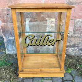Verkaufsvitrine von Cailler Kohler