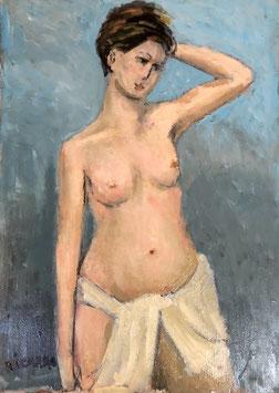 Gemälde Stehender Akt