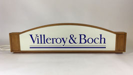 "Leuchtreklame ""Villeroy & Boch"""