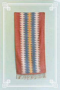 Vintage Schal Flèche - einzigartiges Unikat
