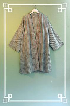 Mantel / Kimono gestreift