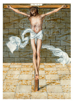 Predella - Christus am Kreuz