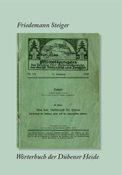 Wörterbuch der Dübener Heide