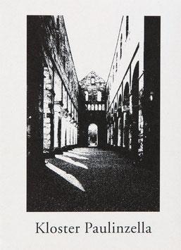 Kartenmappe Kloster Paulinzella