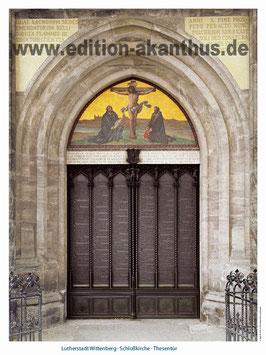 Wittenberg - Schlosskirche - Thesentür