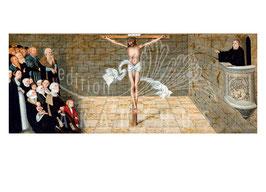Predella - Martin Luther als Prediger