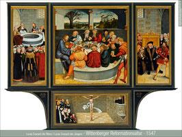 Wittenberger Reformationsaltar - 1547