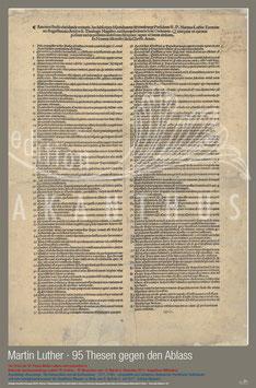 Martin Luther - 95 Thesen gegen den Ablass