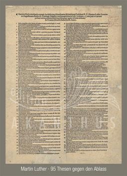 Martin Luther - 95 Thesen