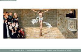 Predella des Reformationsaltars