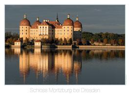 Schloss Moritzburg, Morgenstimmung