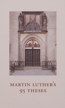 Martin Luther´s 95 Theses