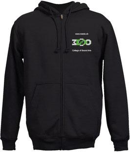 Hoodie Jacket black Motive 1
