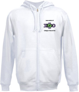 Hoodie Jacket white Motive 2