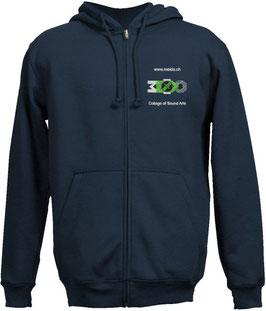 Hoodie Jacket blue Motive 2