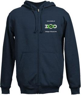 Hoodie Jacket blue Motive 1