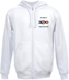 Hoodie Jacket white Motive 1