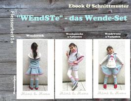 """Ebook/ Nähanleitung """"WEndSTe- das Wendeset"""""""
