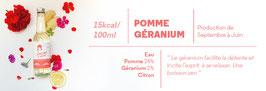 Simone a soif - POMME GERANIUM