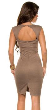 Etui-Kleid mit Spitze 00424