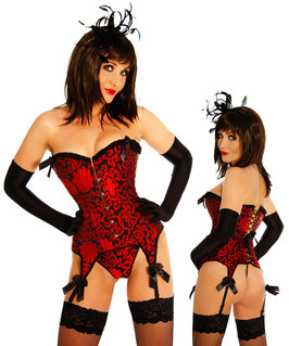 Straps-Corsage rot 00155