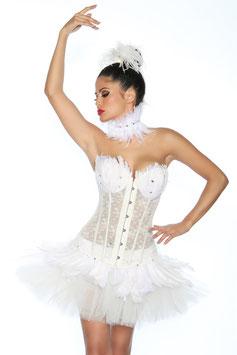 Petticoat Swan/Weiss 00298