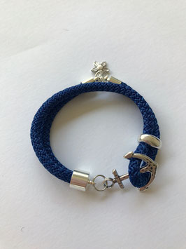 ANKERARMBAND BLUE FLOWER
