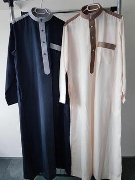 Qamis met 2 kleuren