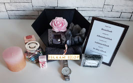 Gift set roze/zwart