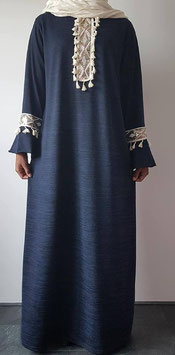 Abaya blue