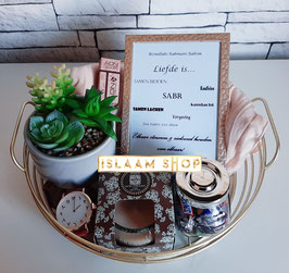 Gift set gold basket II