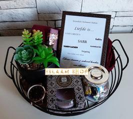 Gift set black basket II