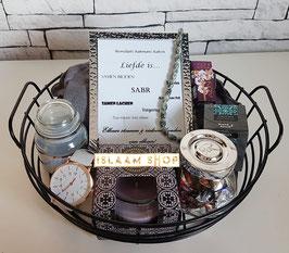 Gift set black basket