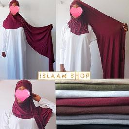 Instant hijab viscose