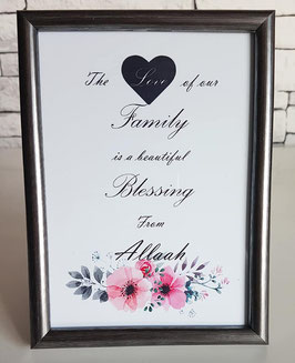 The love of our Family (zilver)
