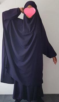 2 Delige jilbab met broekrok