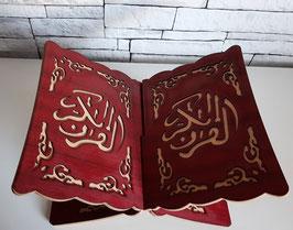 Koran houder donkerrood